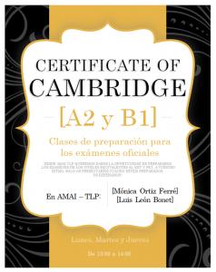 clases inglés AMAI TLP