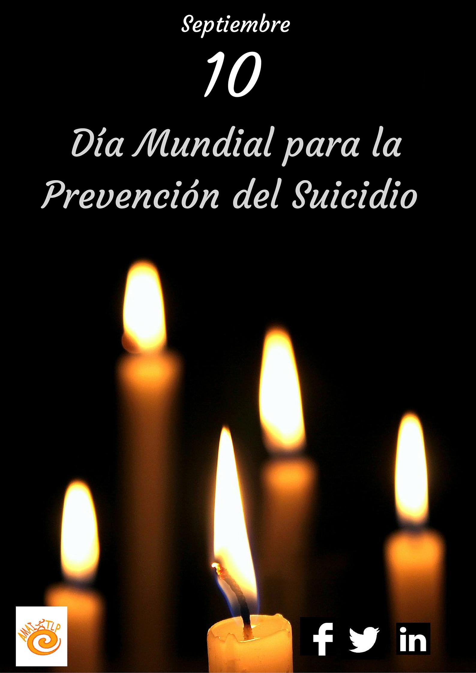 Día Mundial para la Prevención del Suicidio*
